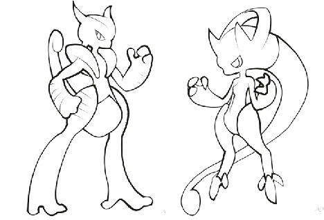 mewtwo coloring pages at getdrawings free