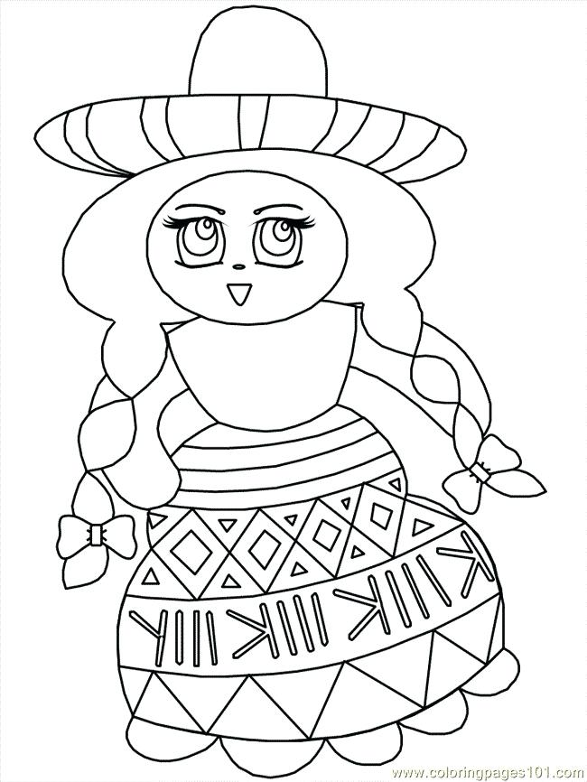 Mexican Art Coloring Pages at GetDrawings | Free download