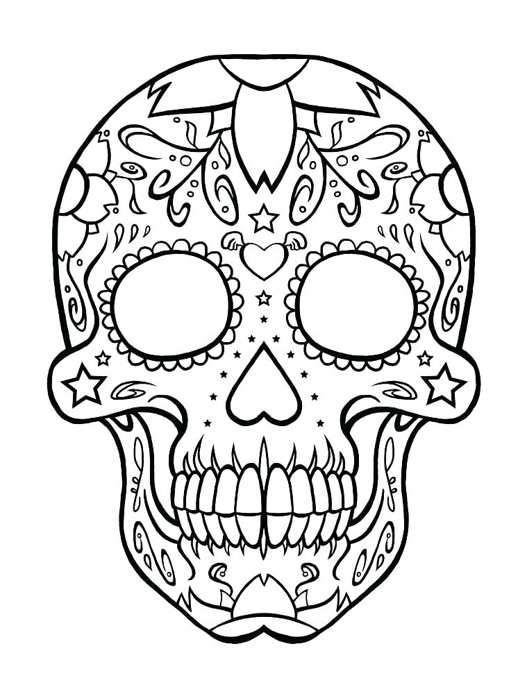Mexican Art Coloring Pages At Getdrawings Com Free For