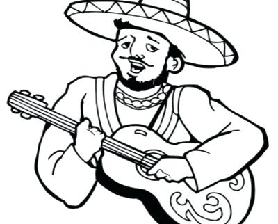400x322 Mexican Food Coloring Pages Food Coloring Sheets Page Image Images