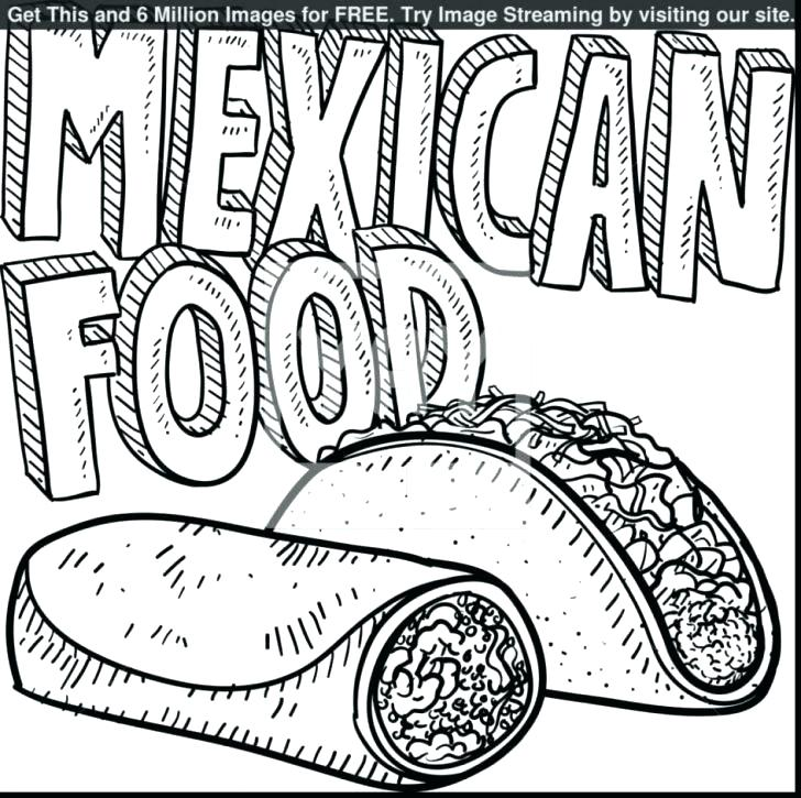 728x725 Food Coloring Pages Coloring Food Pages Awesome Girl Page Food