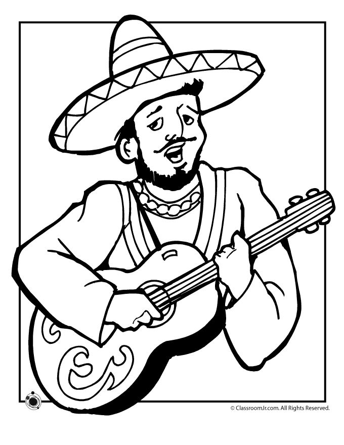 680x880 Mexican Colouring Pages Mexican Coloring Pages Opencompositing