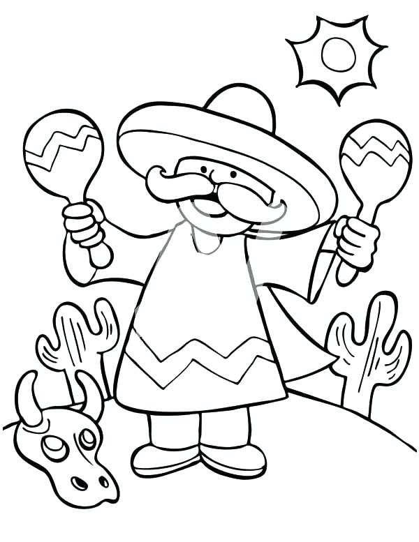 The Best Free Mexico Coloring Page Images Download From 50 Free