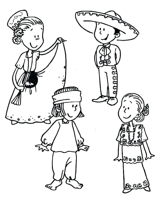 642x800 Map Of Mexico Coloring Page Coloring Pages Fiesta Coloring Pages