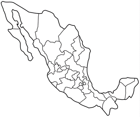 579x487 Mexico Coloring Page Coloring Book