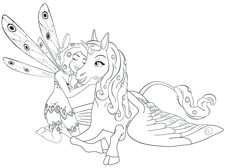mia and me coloring pages at getdrawings | free download