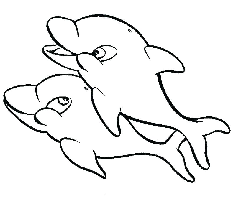 817x675 Dolphins Coloring Pages Coloring Pages Dolphins Dolphin Coloring