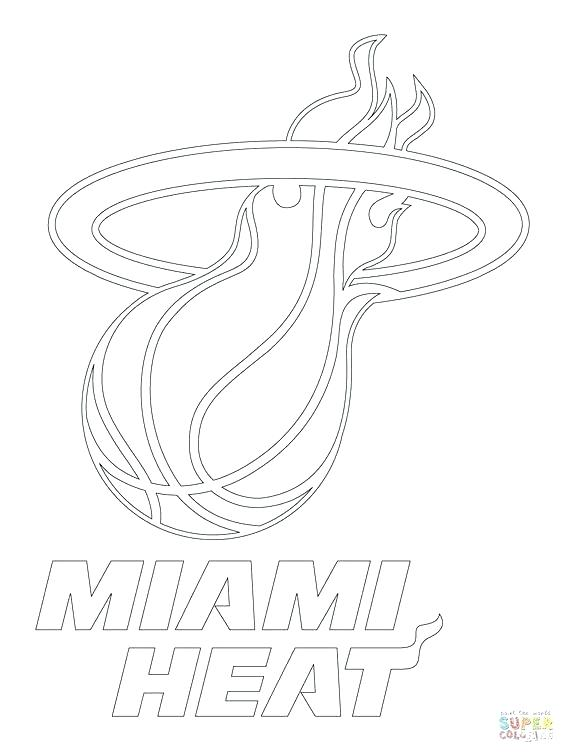 564x752 Miami Heat Coloring Pages Cool Coloring Pages Teams Logos