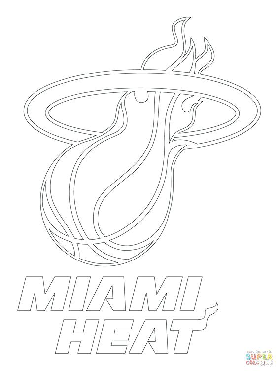 564x752 Miami Heat Coloring Pages Here Are Heat Coloring Pages Pictures I