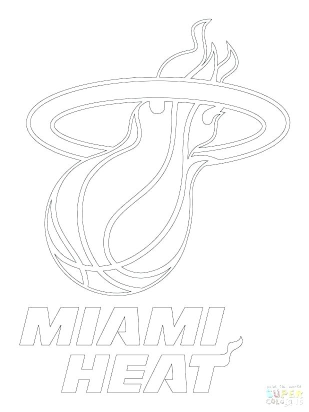 618x824 Miami Heat Coloring Pages Adult Coloring Pages Coloring Pages