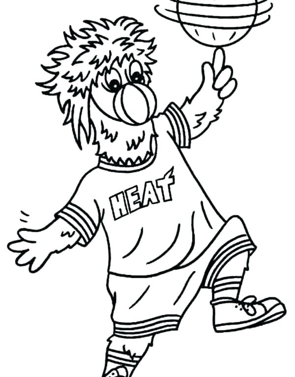 600x768 Miami Heat Coloring Pages Best Images About On Miami Heat Logo