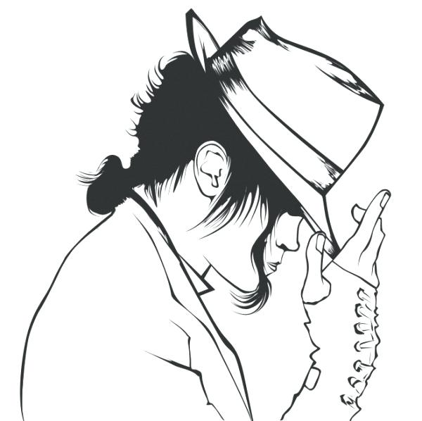 The Best Free Michael Jackson Coloring Page Images Download