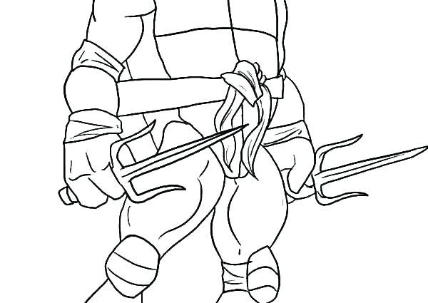 600x425 Michelangelo Coloring Pages Teenage Mutant Ninja Turtles Coloring