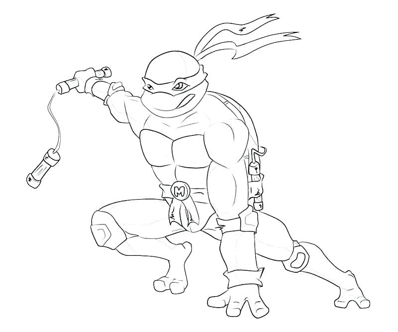 800x667 Michelangelo Ninja Turtle Coloring Pages Holiday Coloring Pages