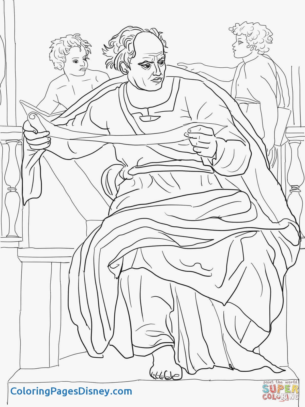 1200x1600 Prophet Isaiah Coloring Pages Awesome Prophet Joel Coloring Page