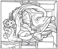 236x200 Michelangelo Printout To Color Credit Becker Bombs Website