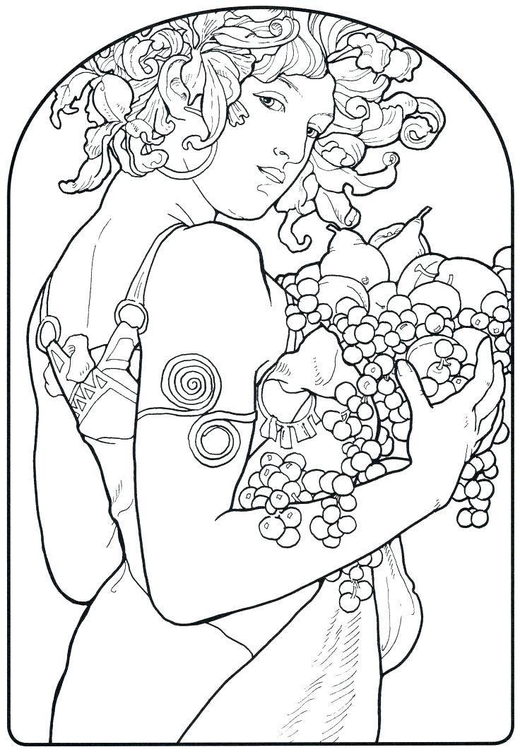 736x1064 Michelangelo Coloring Pages Artistic Coloring Pages Art Coloring