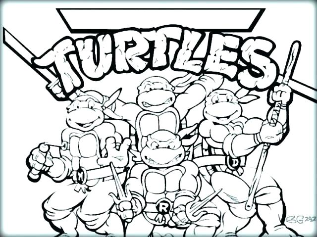 640x479 Michelangelo Ninja Turtle Mask Color Coloring Pages Beautiful Free