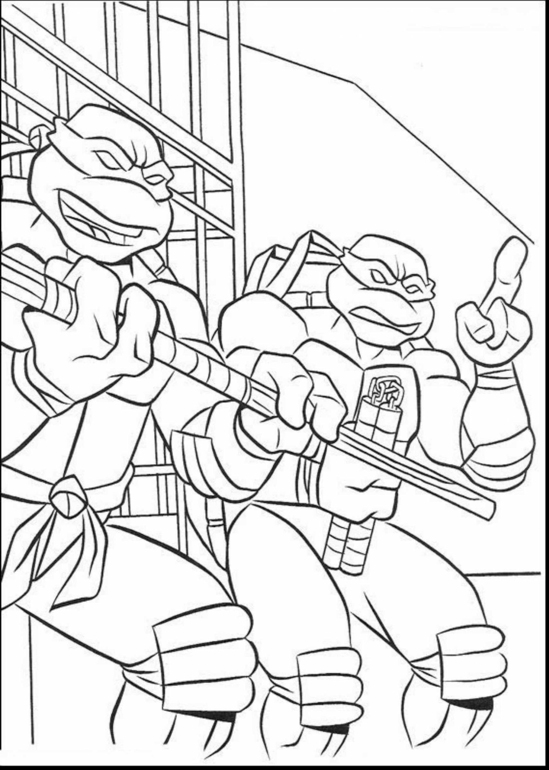 1871x2620 New Fabulous Ninja Turtles Michelangelo Coloring Pages With Ninja