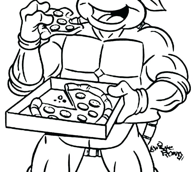 678x600 Ninja Turtle Coloring Page Ninja Turtle Coloring Pages