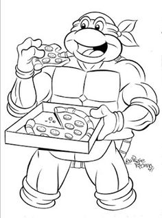 236x317 Pizza Coloring Pages