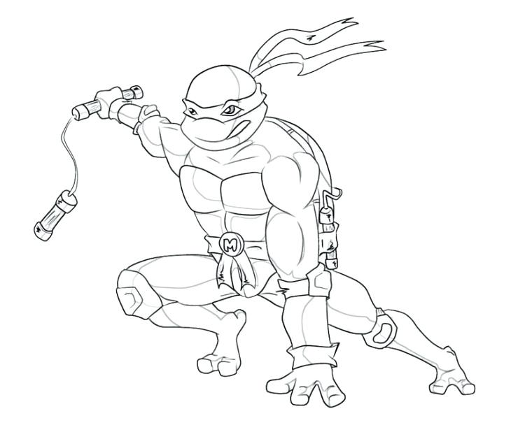 730x608 Michelangelo Coloring Pages Free Online Coloring Page