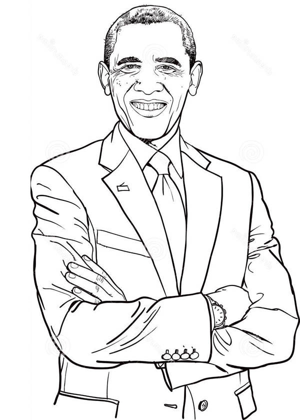 600x840 Michelle Obama Coloring Pages Epic Barack Obama Coloring Page