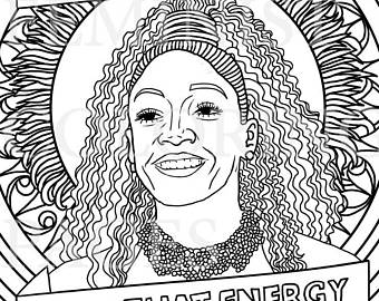 340x270 Michelle Obama First Lady Feminist Coloring Portraits