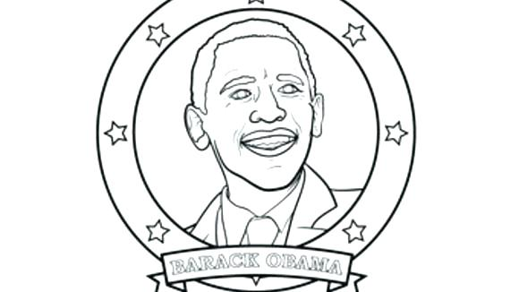 580x326 Obama Coloring Pages Us President Coloring Page President Coloring