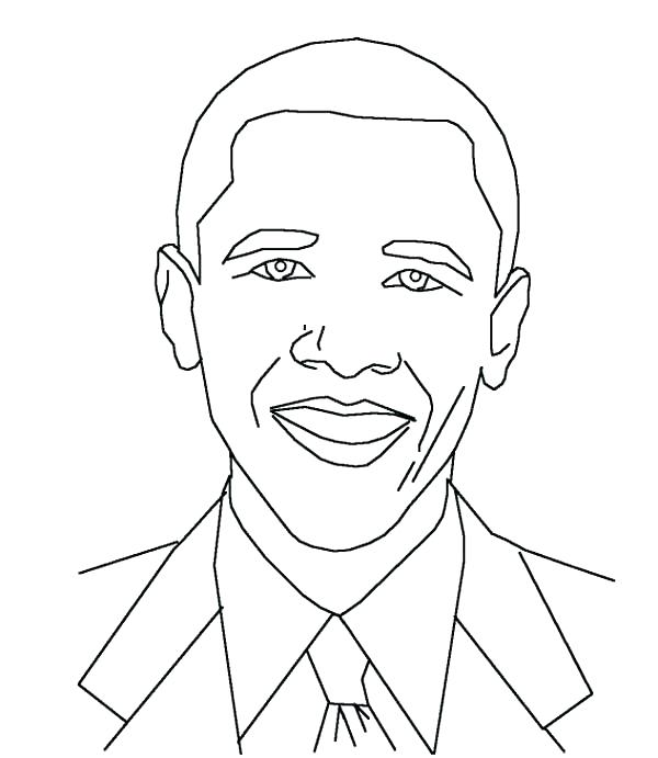 600x691 Michelle Obama Coloring Pages