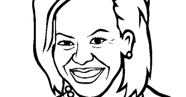 600x315 Coloring Michelle Obama Coloring Pages