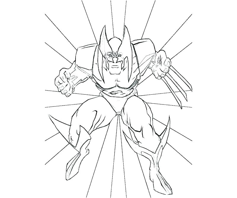 800x667 Wolverine Coloring Pages Wolverine Coloring Pages Wallpaper
