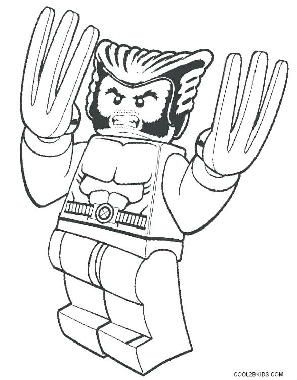 587x750 Xmen Coloring Pages Wolverine Coloring Pages Printable For Kids X