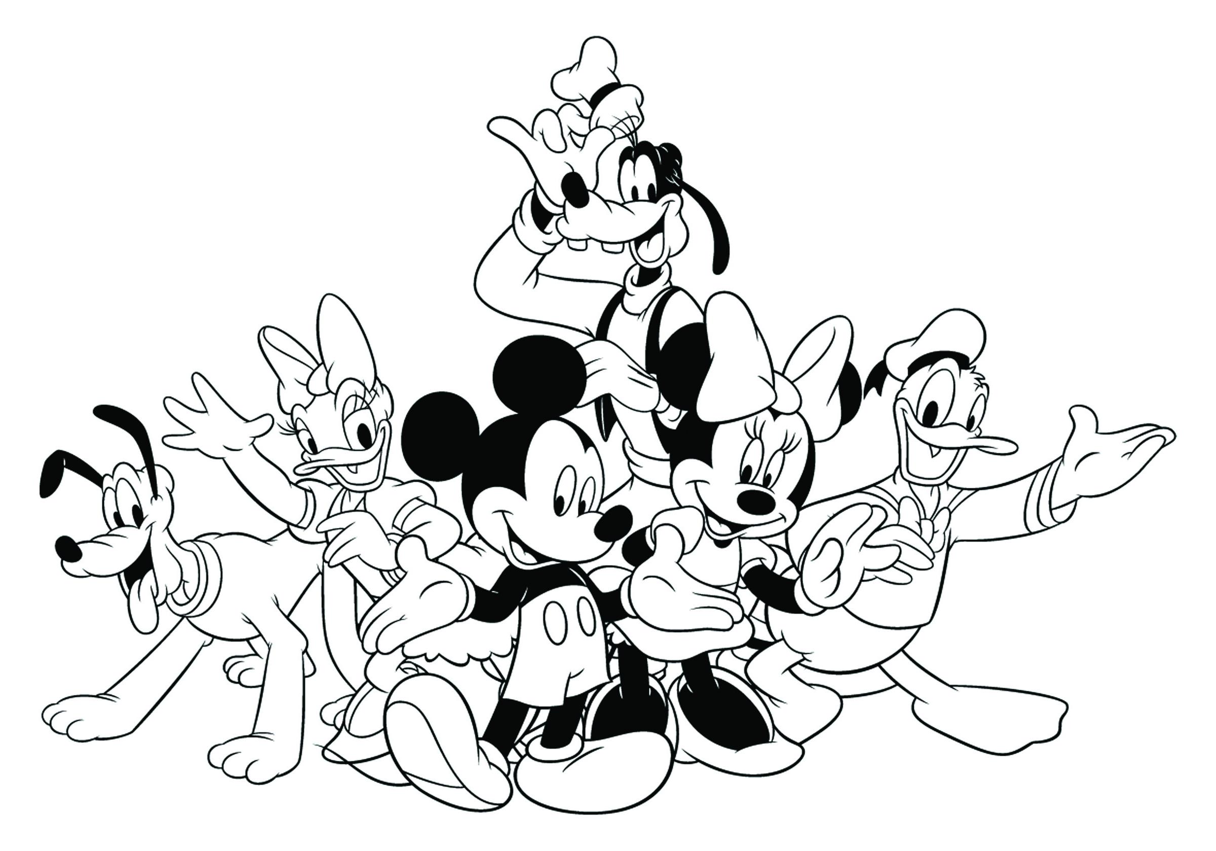 2400x1680 Disney Mickeys Typing Adventure Coloring Page Disney Family Mickey
