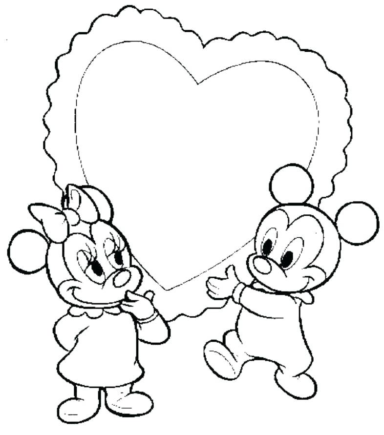 786x891 Mickey Minnie Mouse Coloring Pages Kids Coloring Love Coloring