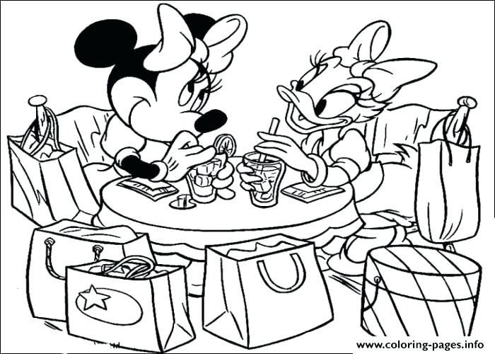 Mickey And Minnie Mouse Coloring Pages Free At Getdrawings Free