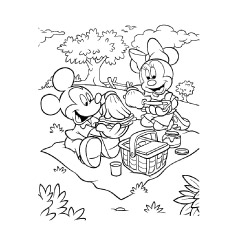 230x230 Top Free Printable Cute Minnie Mouse Coloring Pages Online