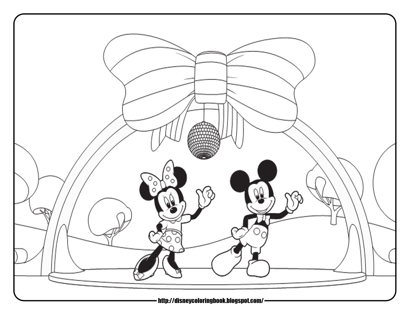1320x1020 Disney Coloring Pages And Sheets For Kids Mickey Mouse Clubhouse