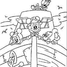 220x220 Minnie Mouse Kisses Mickey Coloring Pages