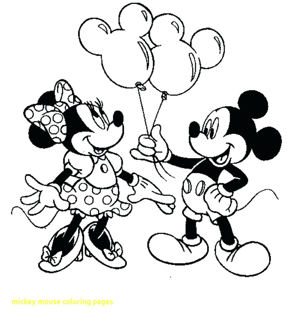 1000x1106 Coloring Page Minnie And Mickey Coloring Pages Mouse Printable
