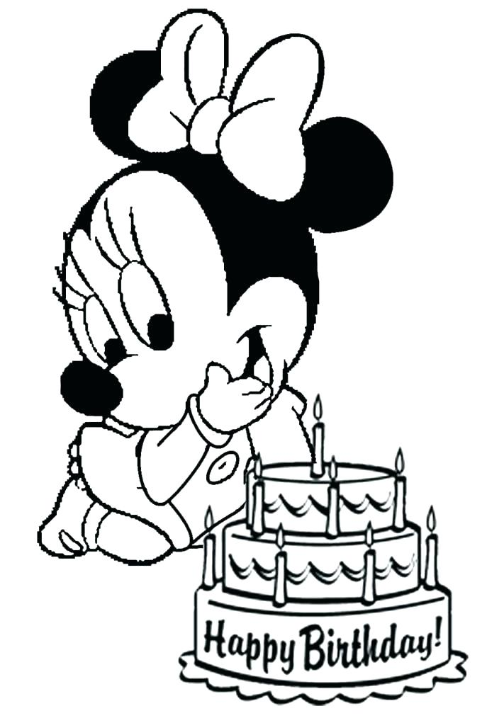 687x1014 Mickey Mouse Coloring Pages Pdf As Well As Mickey Birthday