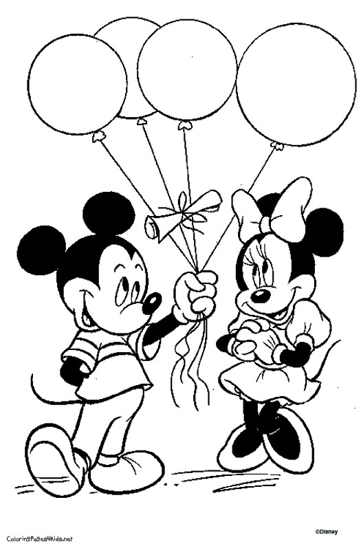525x791 Luxury Mickey Mouse Birthday Coloring Pages Minnie Mouse Coloring