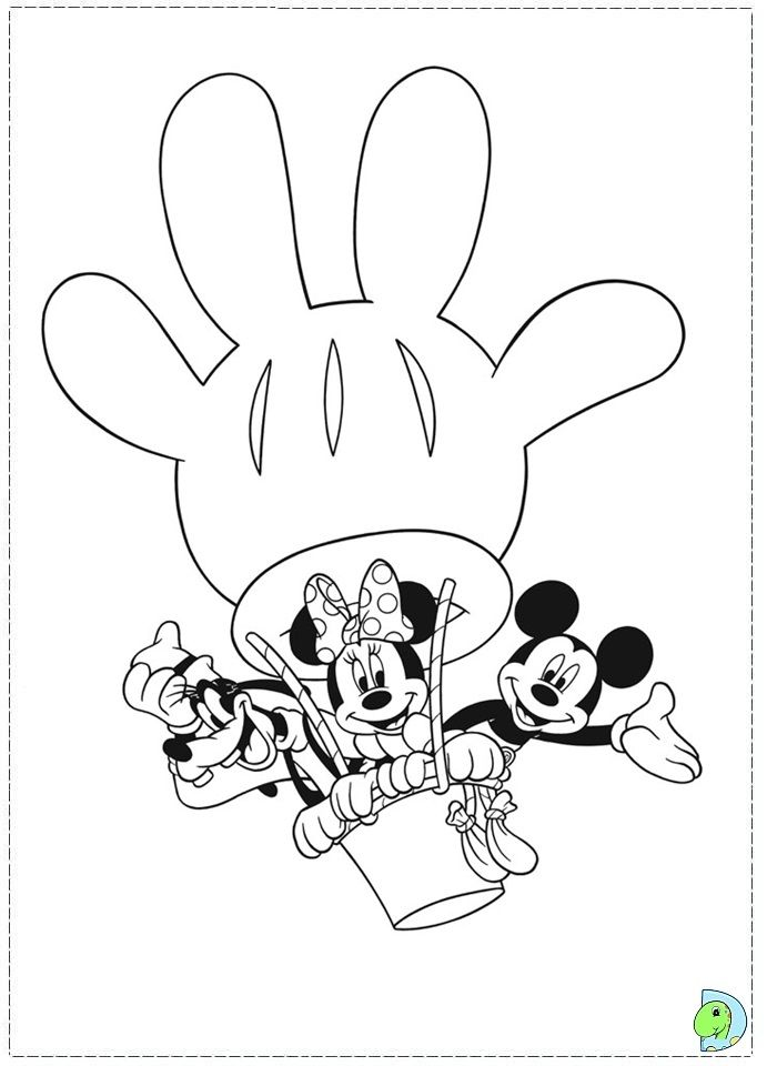 691x960 Mickey Mouse Club House Coloring Pages Mickey Mouse Clubhouse