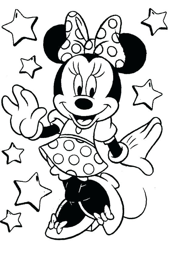 618x839 Mickey Mouse Clubhouse Coloring Pages To Print For Free As