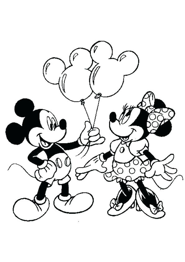 595x842 Color En Mickey Mouse Mickey Mouse Clubhouse Coloring Books Plus