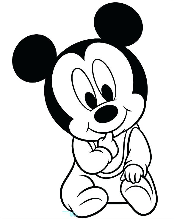 585x735 Free Mickey Coloring Pages Mouse Clubhouse Free Mouse Coloring
