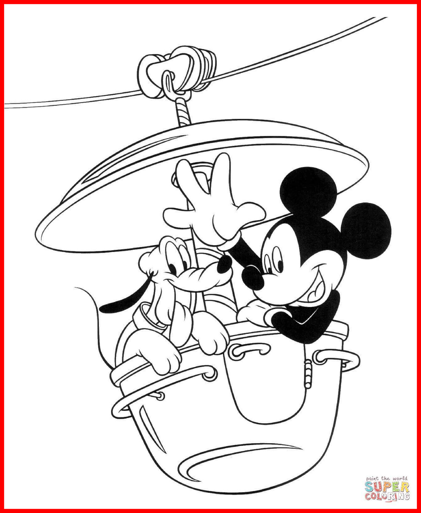 1357x1653 Inspiring Mickey Mouse Clubhouse Coloring Pages Activities For My