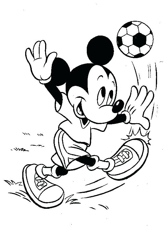 567x785 Mickey Coloring Page Mickey Mouse Coloring Pages Online Mickey