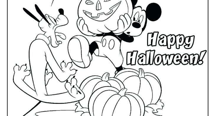 728x393 Mickey Mouse Coloring Page Mickey And Friends Free Coloring Plus