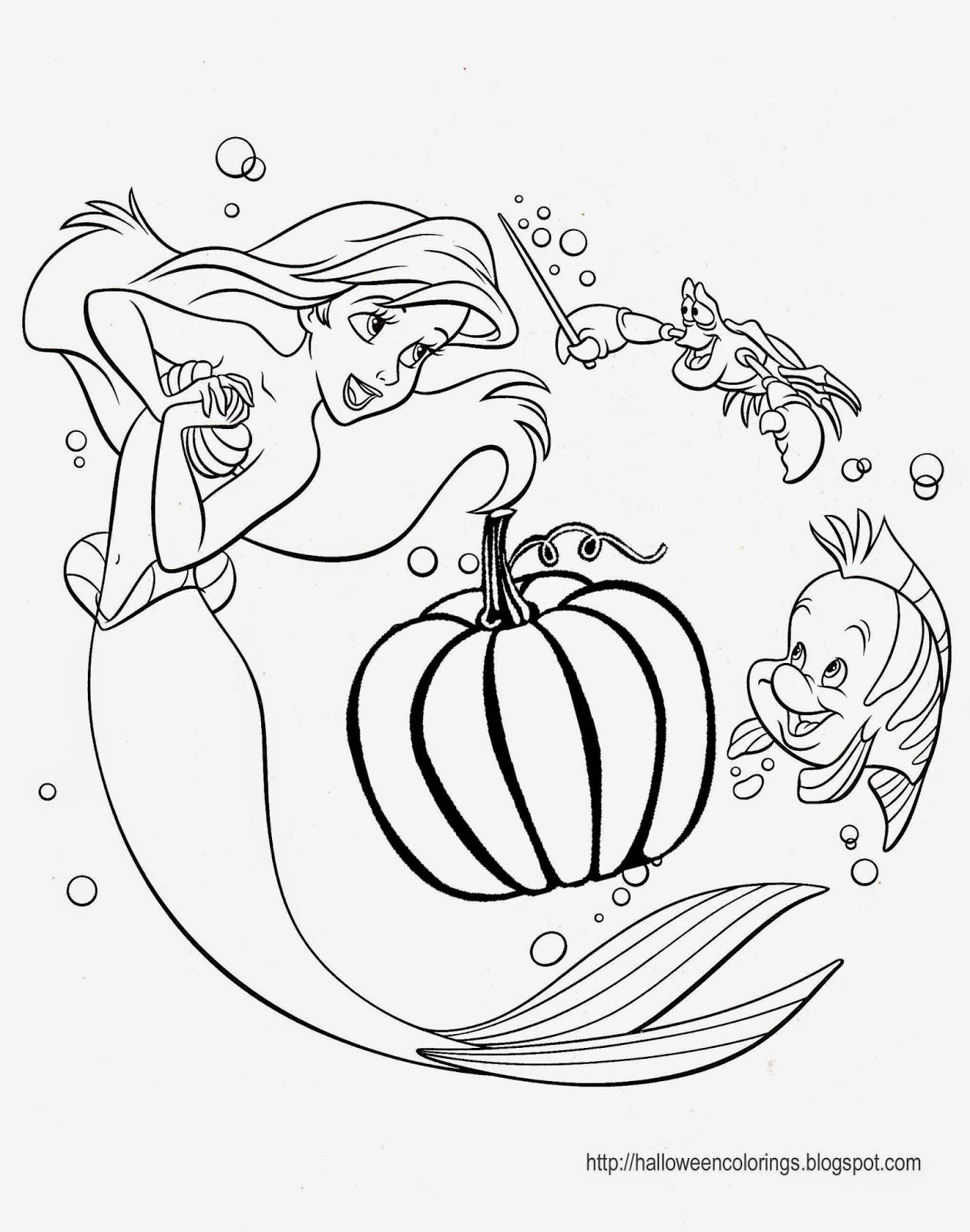 1259x1600 Disney Princess Halloween Coloring Pages